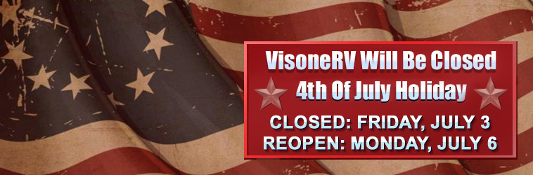 VisoneRV Holiday Hours