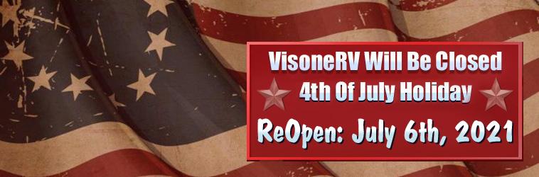 Holiday Hours For VisoneRV