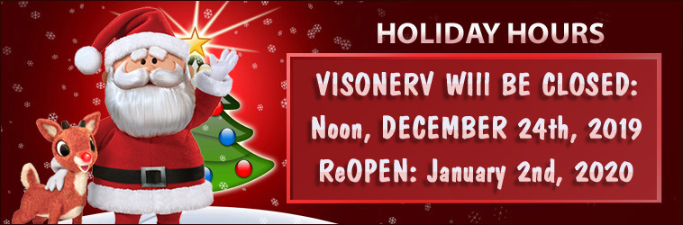VisoneRV Used RV Parts Holiday Hours Christmas