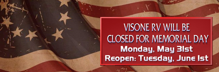 Holiday Hours For VisoneRV